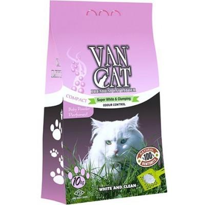 VAN CAT SUPER WHITE & CLUMPING BABY POWDER -10kg
