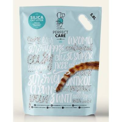 PERFECT CARE CAT SILICA LITTER NATURAL