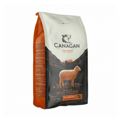 CANAGAN GRASS-FED LAMB GRAIN FREE
